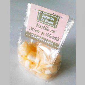 bomboane-cu-miere-si-menta-100g