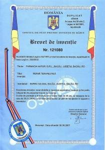pernuta antigripala brevet inventie