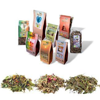 Ceaiuri aromatice pentru formă maximă - din agricultură ecologică