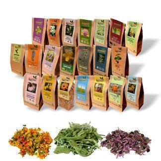 Ceaiuri BIO simple - plante medicinale ecologice la preturi mici