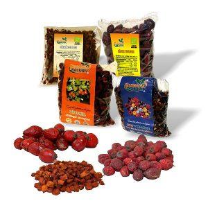 Fructe de padure uscate pentru ceai