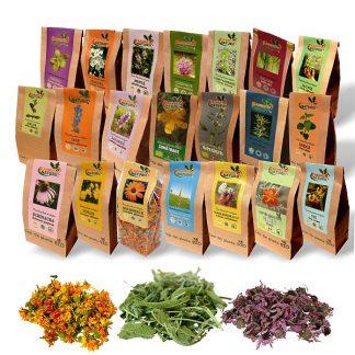Plante medicinale - Ceaiuri BIO simple 100 g la pret avantajos