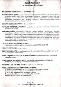 kinetic-gel-prospect-recomandari-contraindicatii