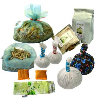 Comprese cu plante (masaj, relaxare, băi)