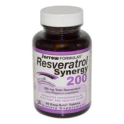 Resveratrol Synergy 200 Jarrow Formulas
