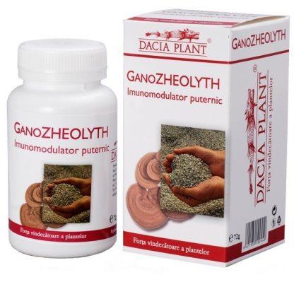 Zeolit si Ganoderma - GANOZHEOLYTH comprimate
