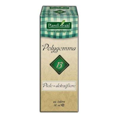 Polygemma 13 - Piele detoxifiere Plantextrakt