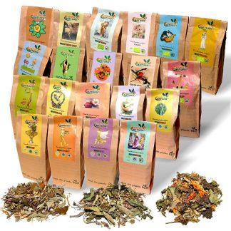 Tratamente naturiste pentru 30 zile X 3 cani/zi - Ceaiuri compuse 150 g