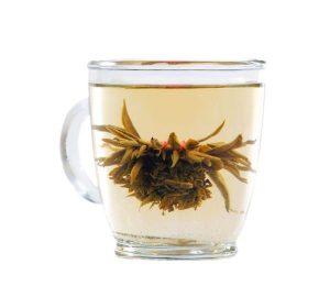 ceai-verde-iasomie-sfere-mici-inflorite-bile-flower-tea-balls