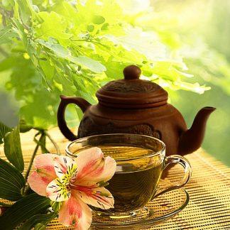 Ceai verde şi alte produse din import