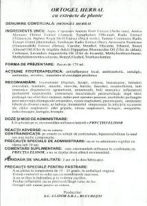 ortogel-herbal-prospect-recomandari-contraindicatii